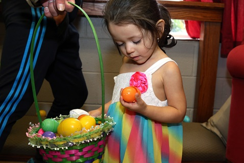 2016 Easter egg hunt at Hillcrest United Methodist Church in Nashville, Tenn. Photo by Kathleen Barry, United Methodist Communications.