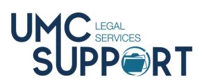 Logo for UMC Legal Services Department of GCFA.