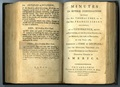 "Photo courtesy of Bridwell Library Special Collections, Perkins School of Theology, Southern Methodist University.  The first Book of Discipline was adopted in 1784 at the historic Christmas Conference. It was titled ""Minutes of Several Conversations Between the Rev. Thomas Coke, The Rev. Francis Asbury and Others."""