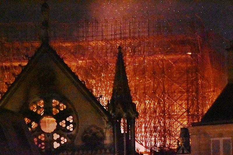 Photo of Notre Dame de Paris by Hossam Ouda. Courtesy of the Baltimore-Washington Annual Conference.