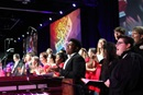 Photo by Kathleen Barry, UMNS.  Combined choirs of Centenary College and Martin Methodist College sang during the morning worship and commissioning at the 2016 United Methodist General Conference.