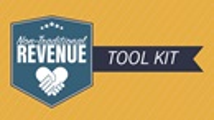 Non-Traditional Revenue Tool Kit logo. Courtesy of GCFA.
