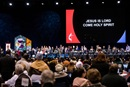 Church leaders gather for the opening of the 2019 United Methodist General Conference in St. Louis. File photo by Kathleen Barry, UM News.