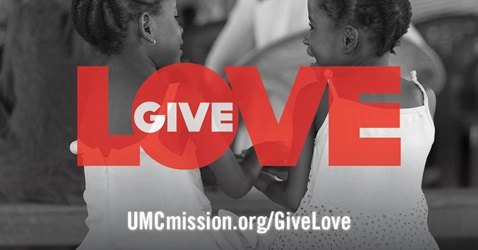 Global Ministries, the worldwide mission and development agency of The United Methodist Church, invites members to give love, joy, hope and peace through their year-end giving campaign. Image courtesy of Global Ministries.