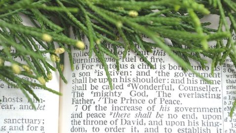 The General Commission on Religion and Race created this new Advent resource, which uses the four weeks of Lectionary Year A texts from Isaiah. Image from iStockphoto, courtesy of Commission on Religion and Race.