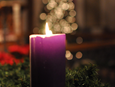 United Methodists gather for a Candlelight Service on Christmas Eve at St. Matthew UMC in Fort Worth, Texas. Photo by Angelia Sims of Angelia's Photography.