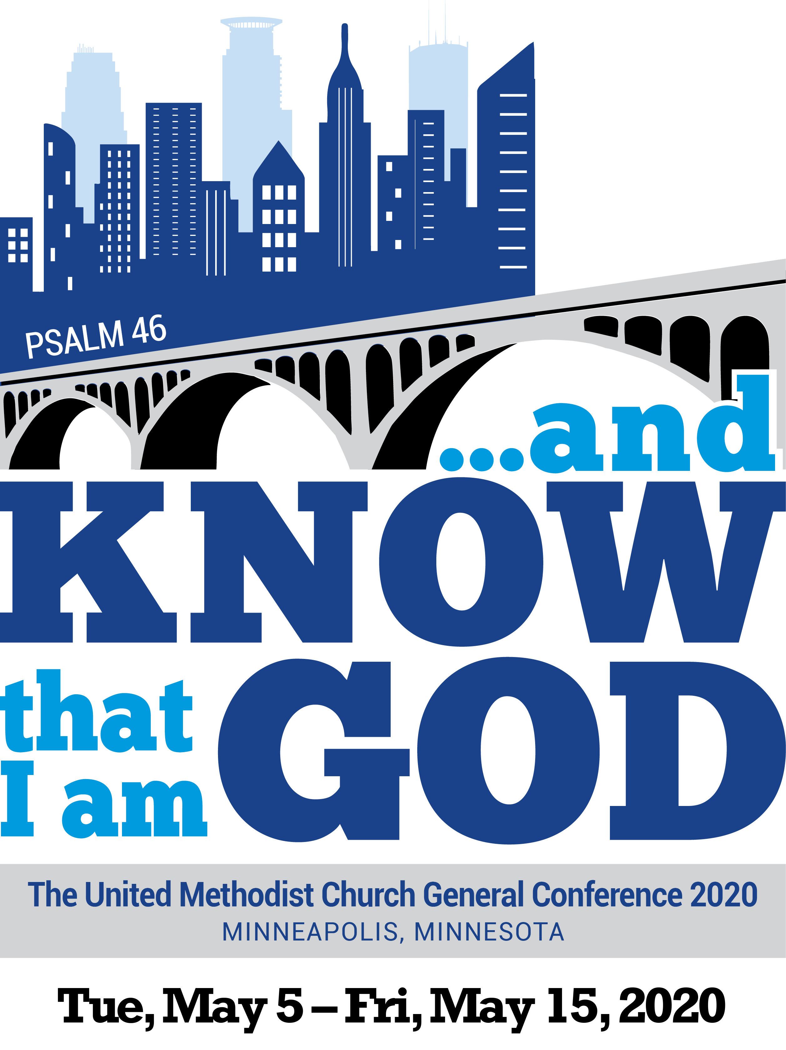 Mobile Logo for United Methodist Church General Conference 2020